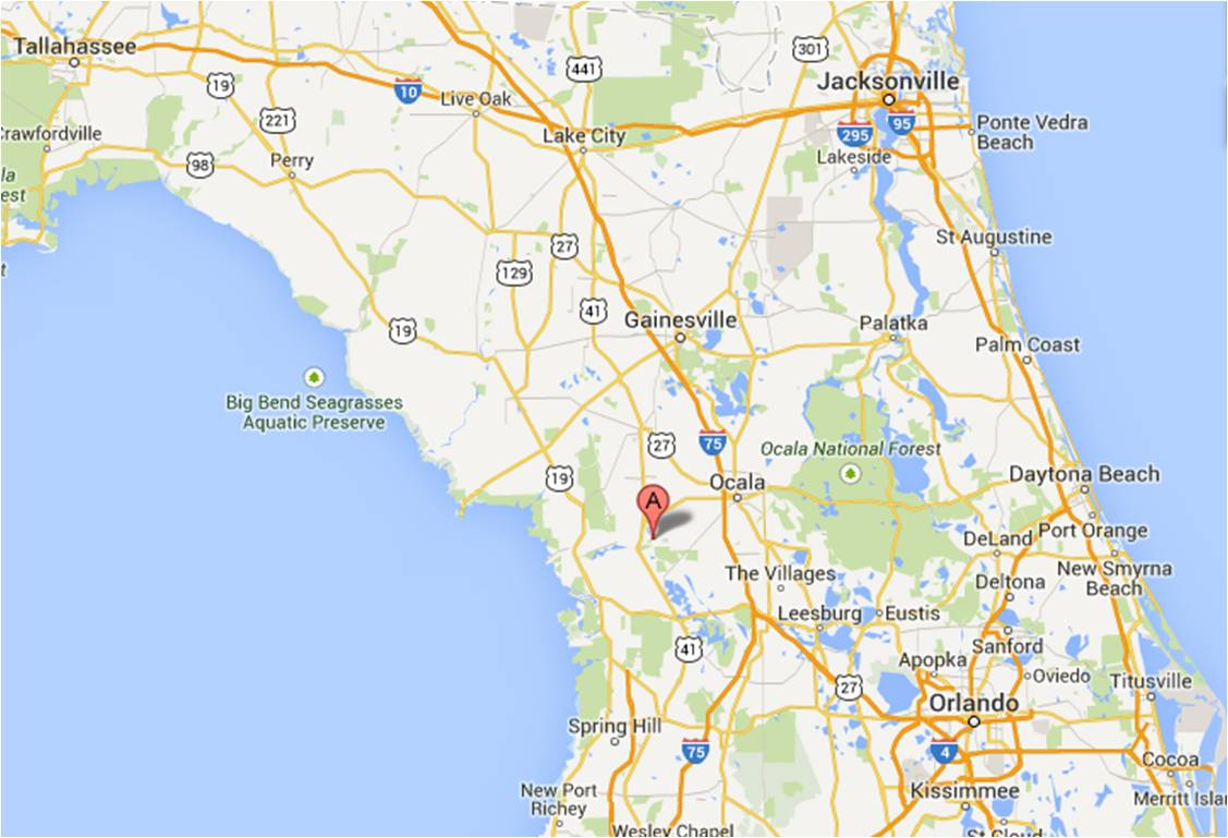 Rainbow Springs State Park Dunnellon FL  Jan  Michigan - Florida map state parks