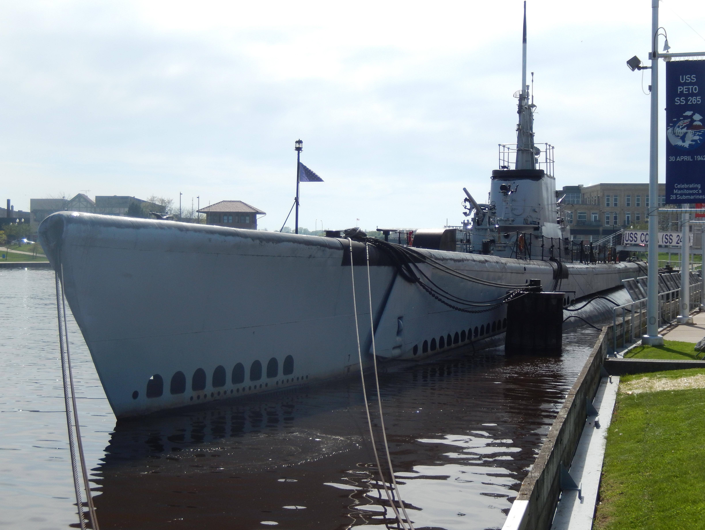 submarines in lake michigan, may 2018 | michigan traveler